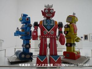「ロボットと美術」展に相澤ロボットが登場